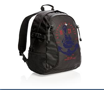 Рюкзак с морским принтом