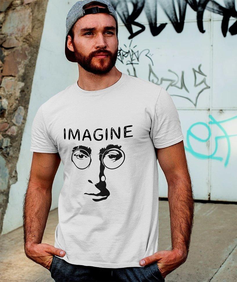 Принт Джон Леннон Imagine