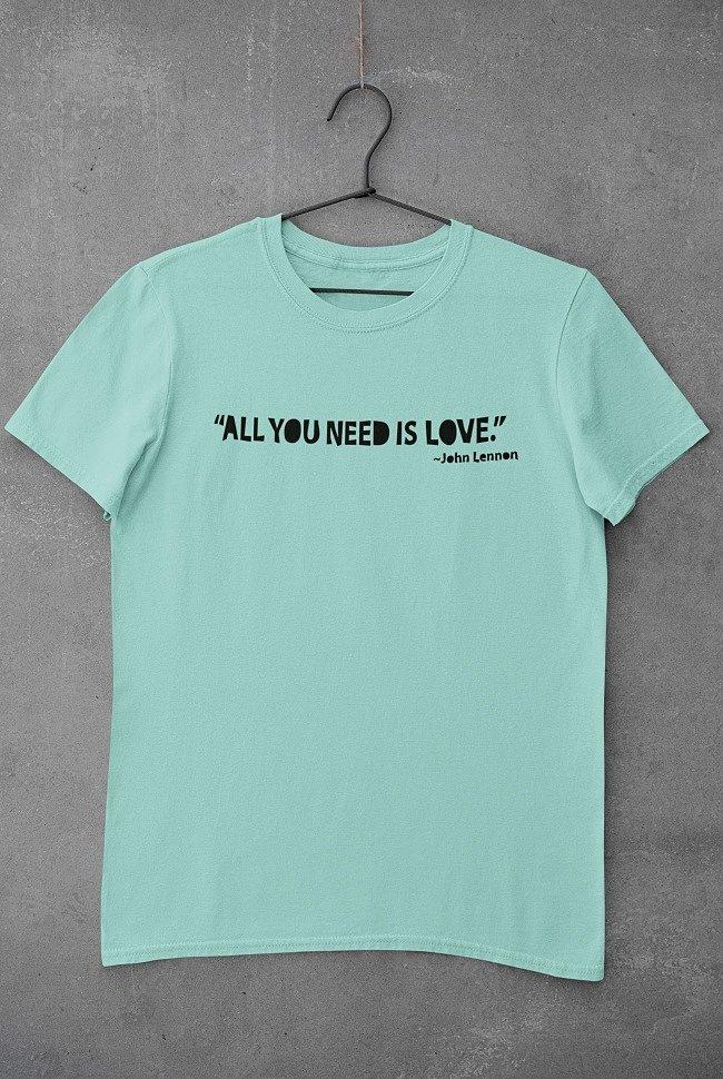 Все, что тебе нужно, это любовь